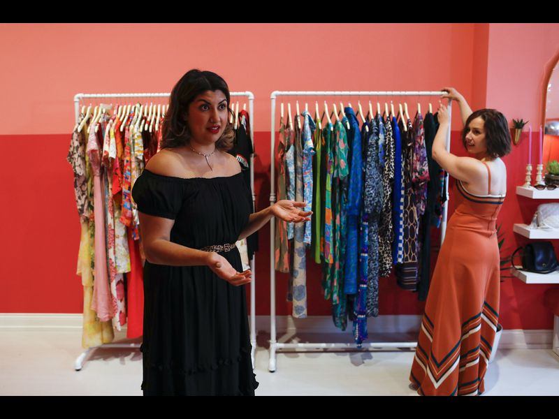 After 6 years of selling from an old RV and ice cream truck, Lost Girls Vintage opens West Town store