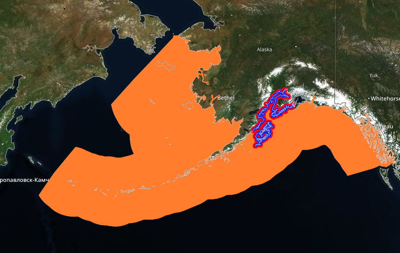 Chinook EFH - The Gulf of Alaska Data Integration portal has created numerous maps displaying essential fish habitat (EFH) for many economically and ecologically important marine species.