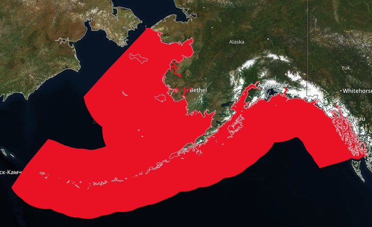 Sockeye EFH - According to The Gulf of Alaska Data Integration portal, EFH 'waters' include