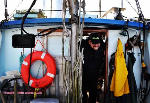 Eric Jordan, skipper of the F/V I Gotta, has taken over 20 young people commercial fishing in the last three years. Photo by Alyssa Russell/ALFA.