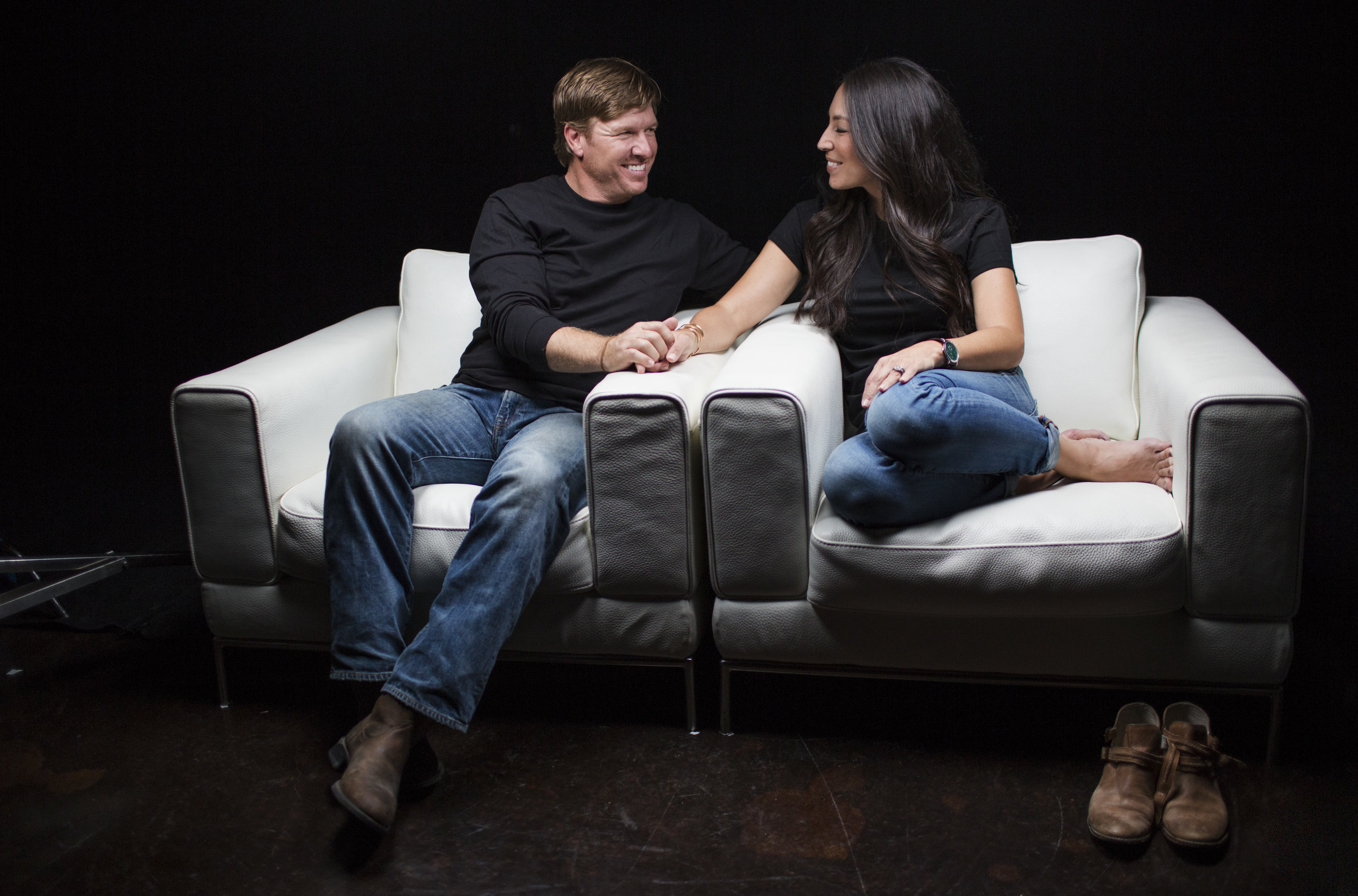 Chip and Joanna Gaines are featured in the newest I Am Second White Chair Film (photo credit: I Am Second).