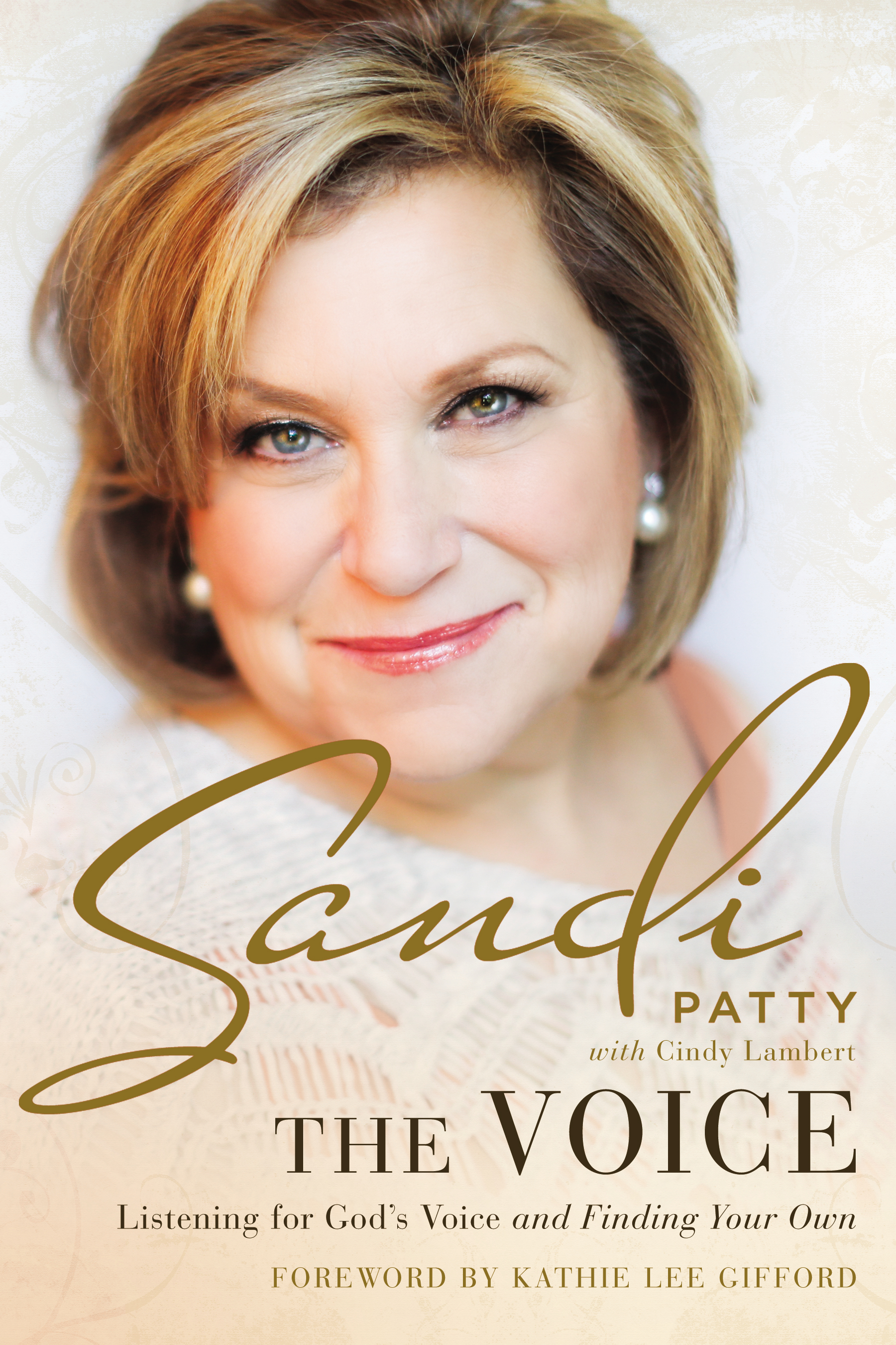 """The Voice"" Book Cover"