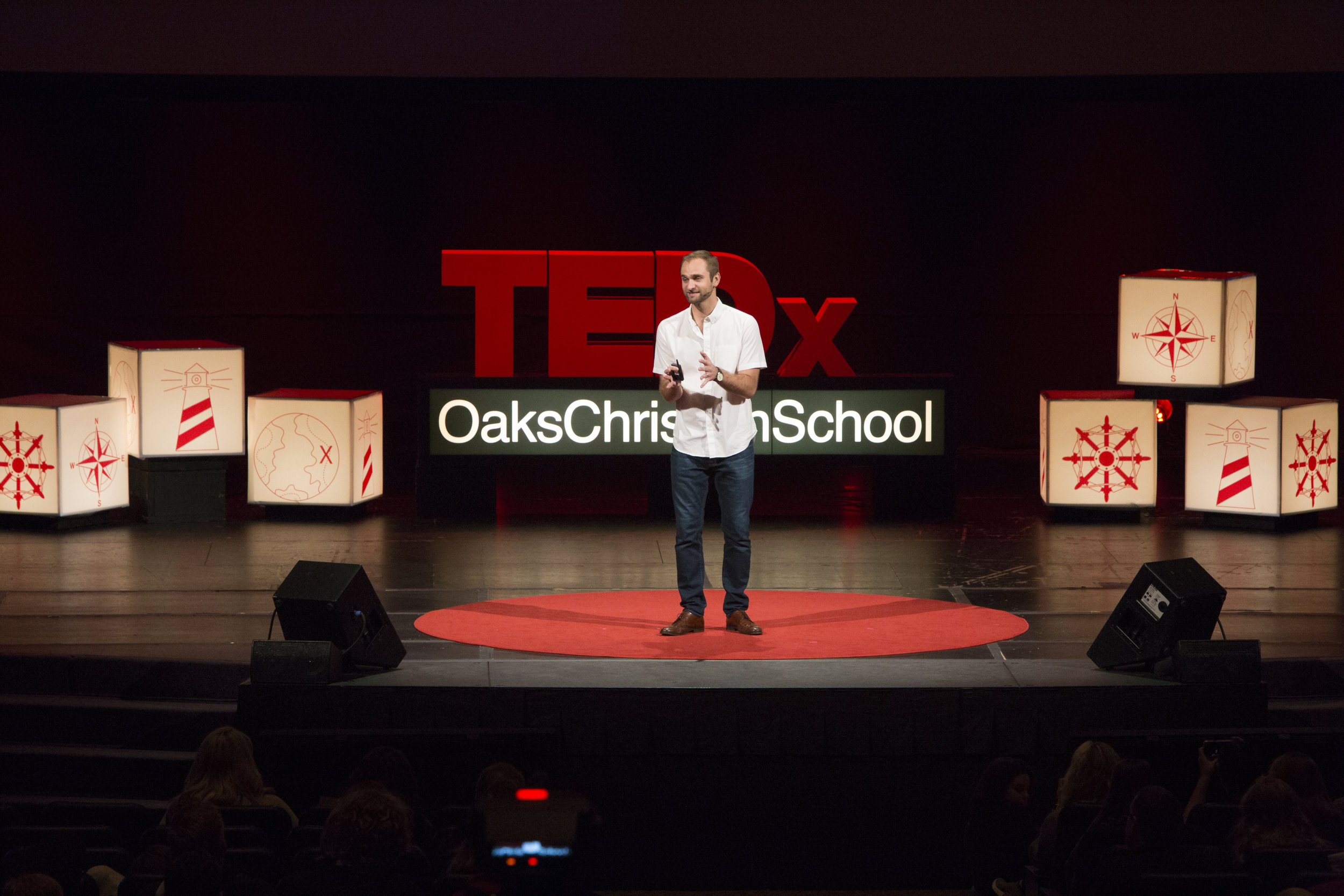 Lucas Ramirez at TEDx