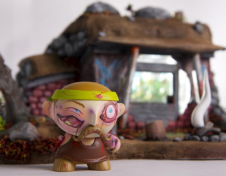 """Zombie Gro-hut"""