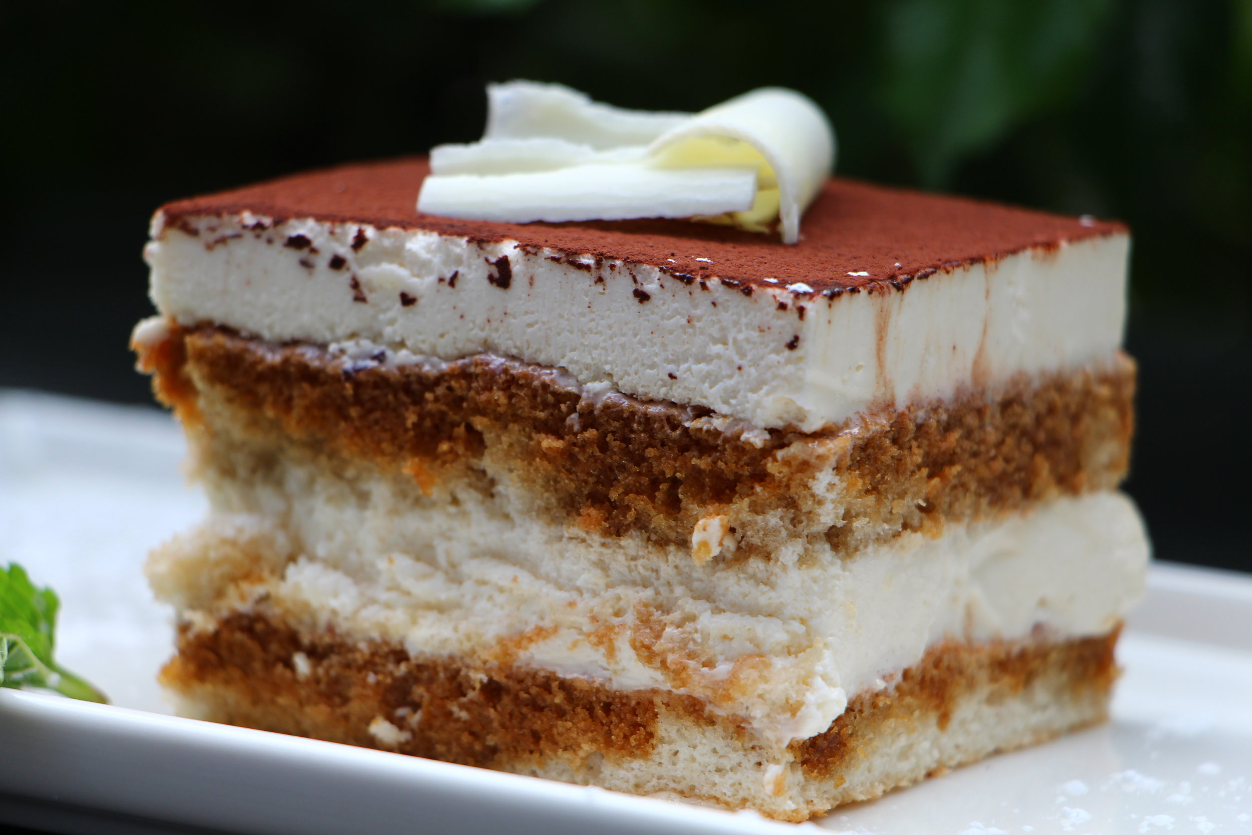 This chic Italian dessert that is the perfect balance between coffee and creamy mascarpone is divine and oh so romantic for your special date.