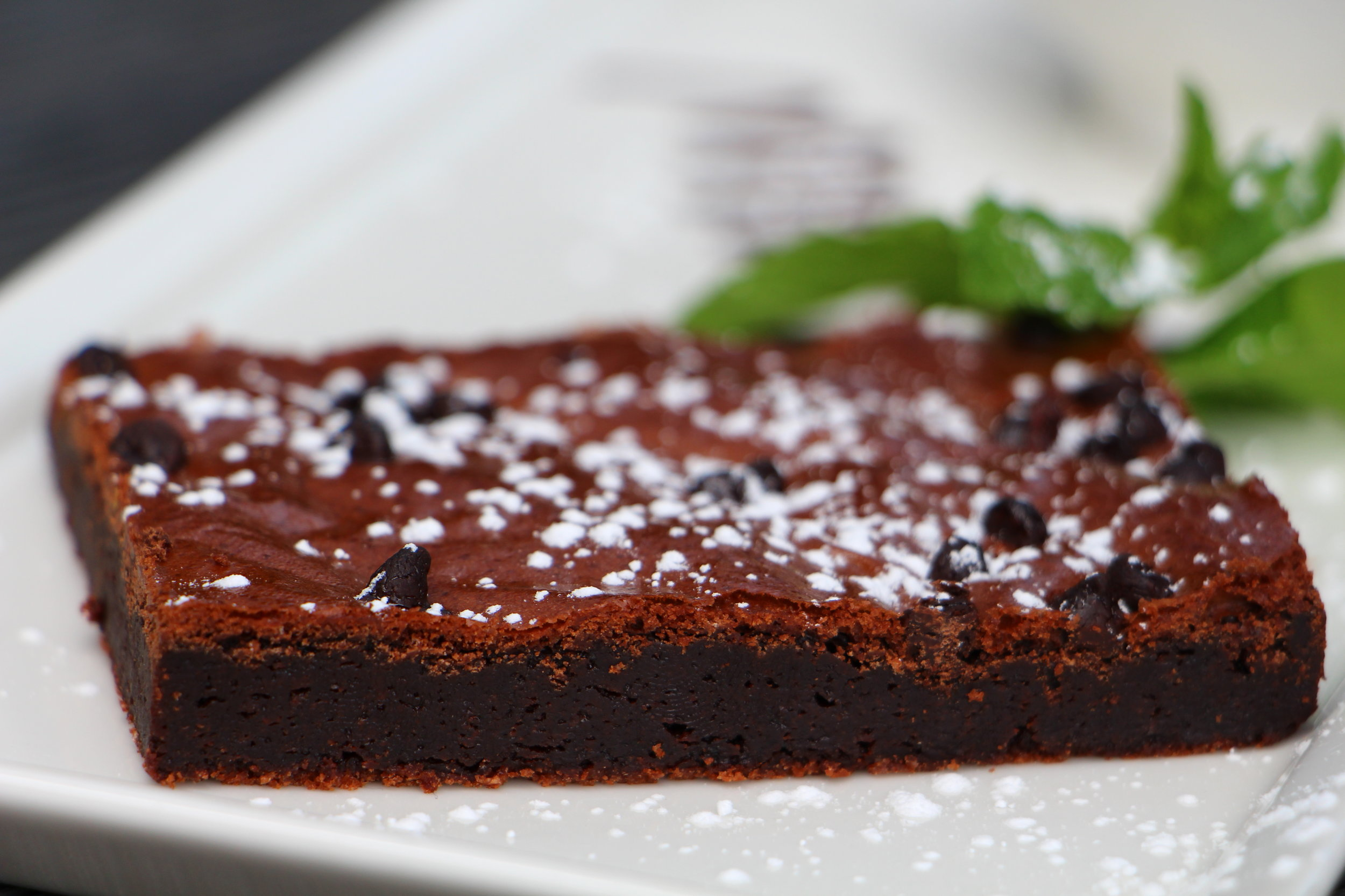 """A traditional American dessert that is a chocolate heaven of fudgy chocolate yumminess. Perfect treat for the little ones who want something with """"lots of chocolate""""."""