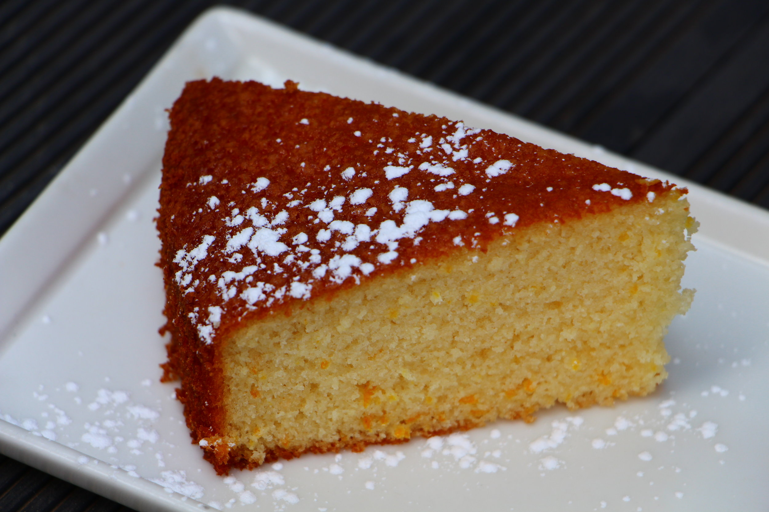 A simple cake sweetened with citrusy orange will make the pickiest eaters happy.