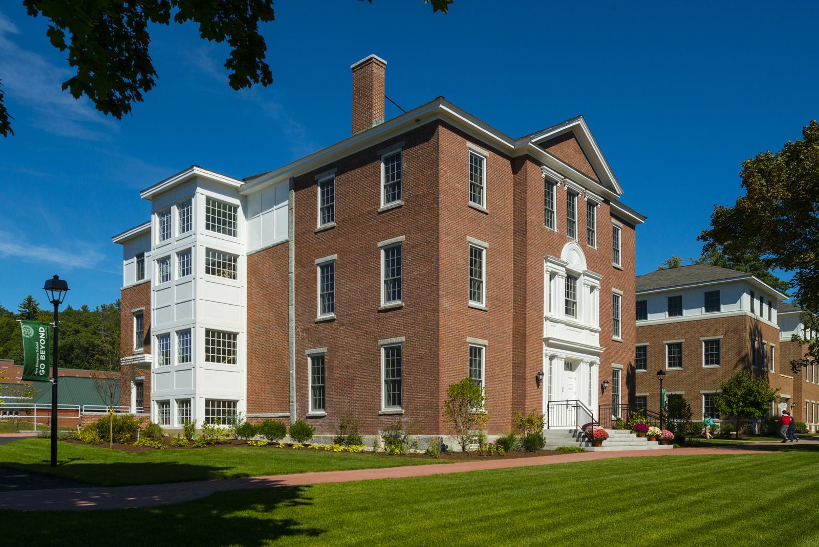Meservey Hall  New Hampton School, New Hampton, NH