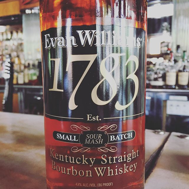 Just a suggestion for this weekend. #evanwilliamsbourbon #whiskeybar #palominobar