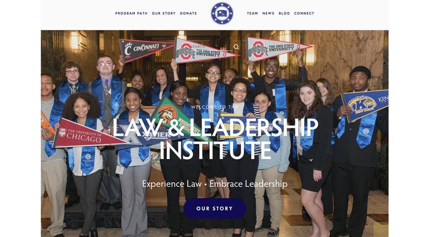 Law & Leadership Institute Website Design