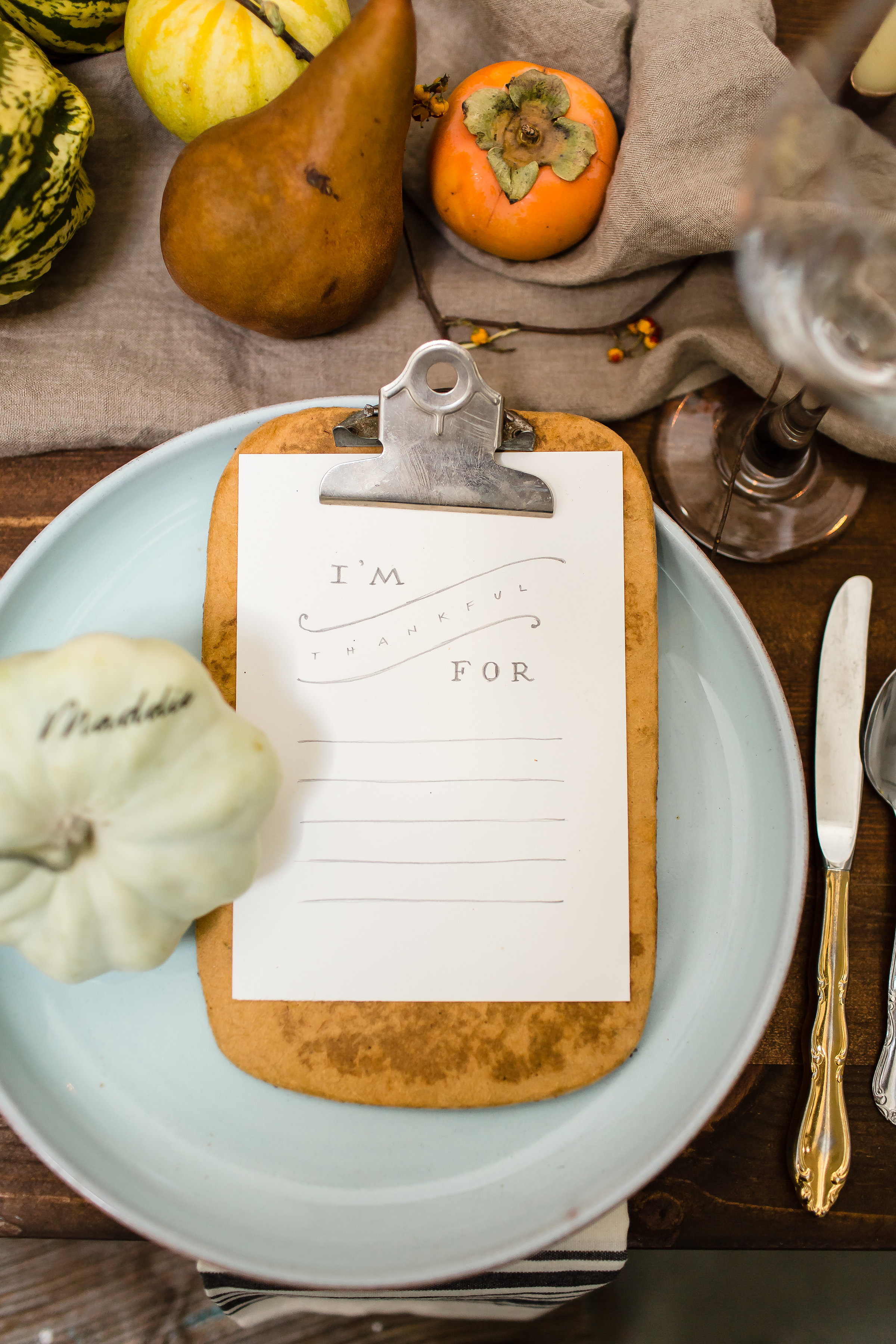 Ash + OAK Thanksgiving DIY Tablescapes