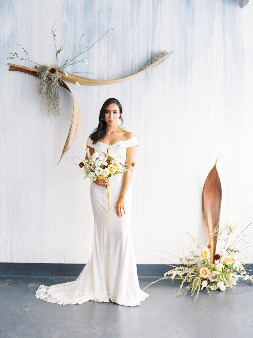 UNIQUE ORIGINAL FLORAL ARRANGEMENTS - Ash + Oak was beyond professional and easy going, we were not disappointed. If you want unique original floral arrangements for any occasion, I strongly recommend Ash + Oak.~Rebecca Barazza, Bride