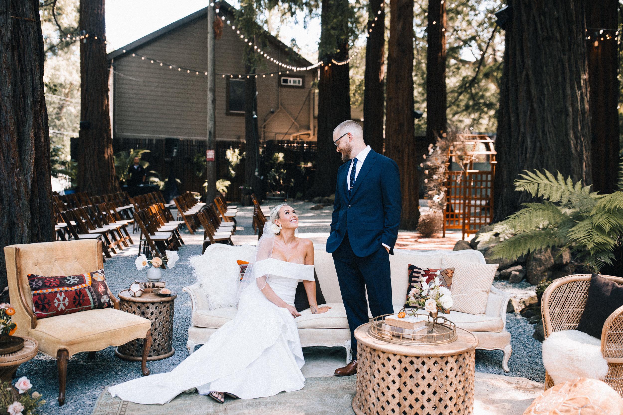 San Francisco Top wedding florist ASH + OAK