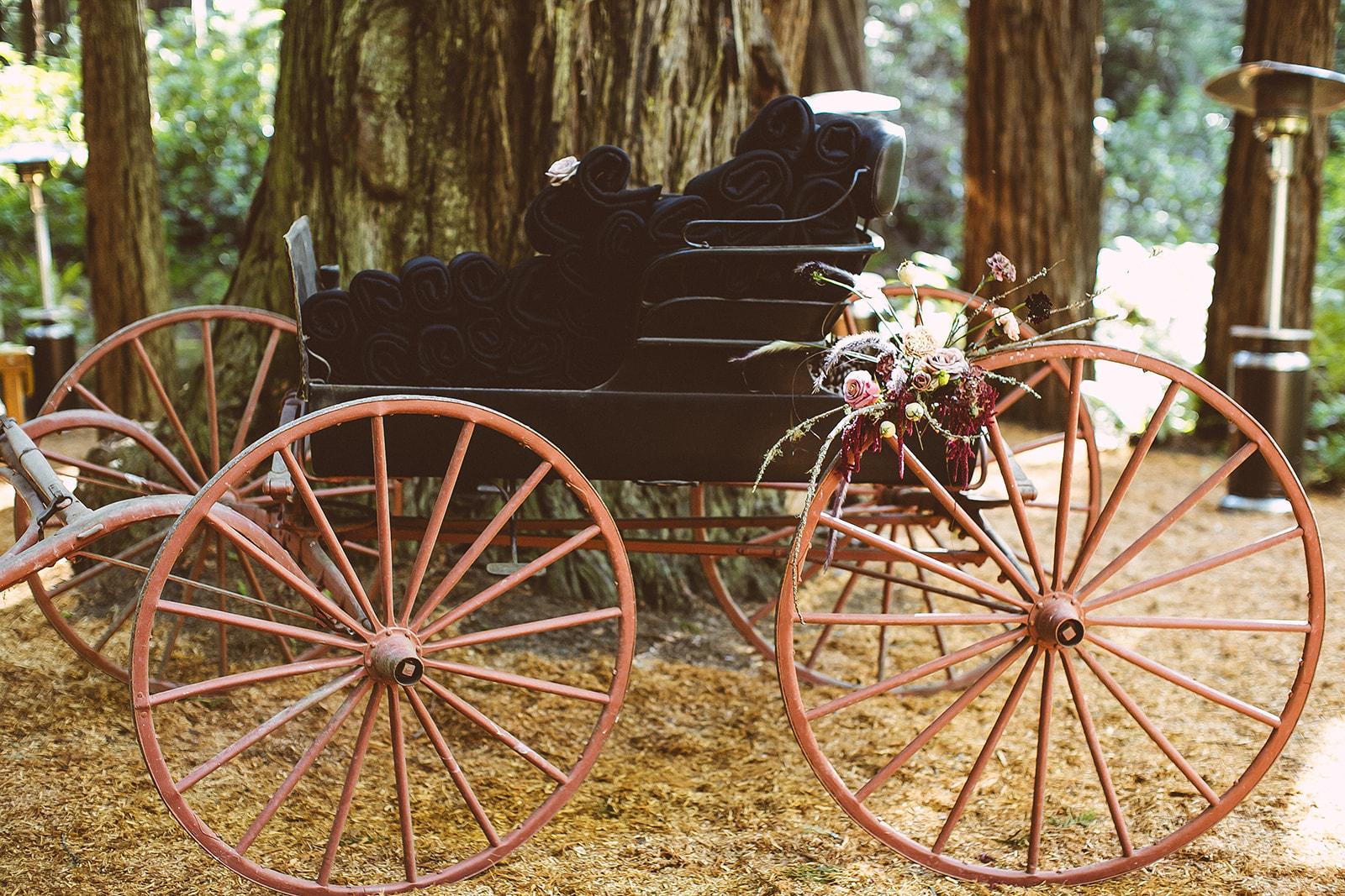 Truckee Top wedding and event florist Ash + oak