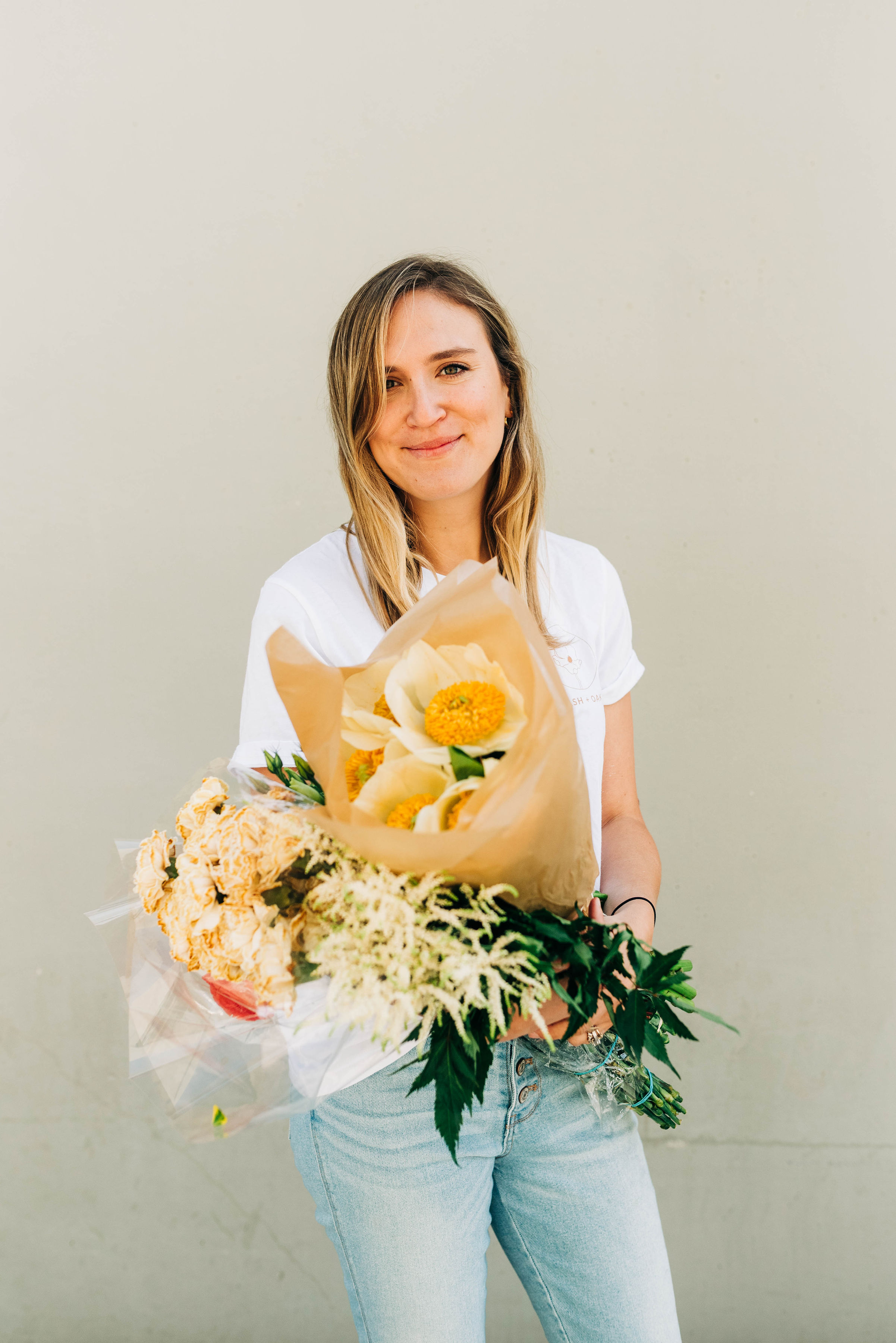 Advice from a bride florist about her wedding flowers