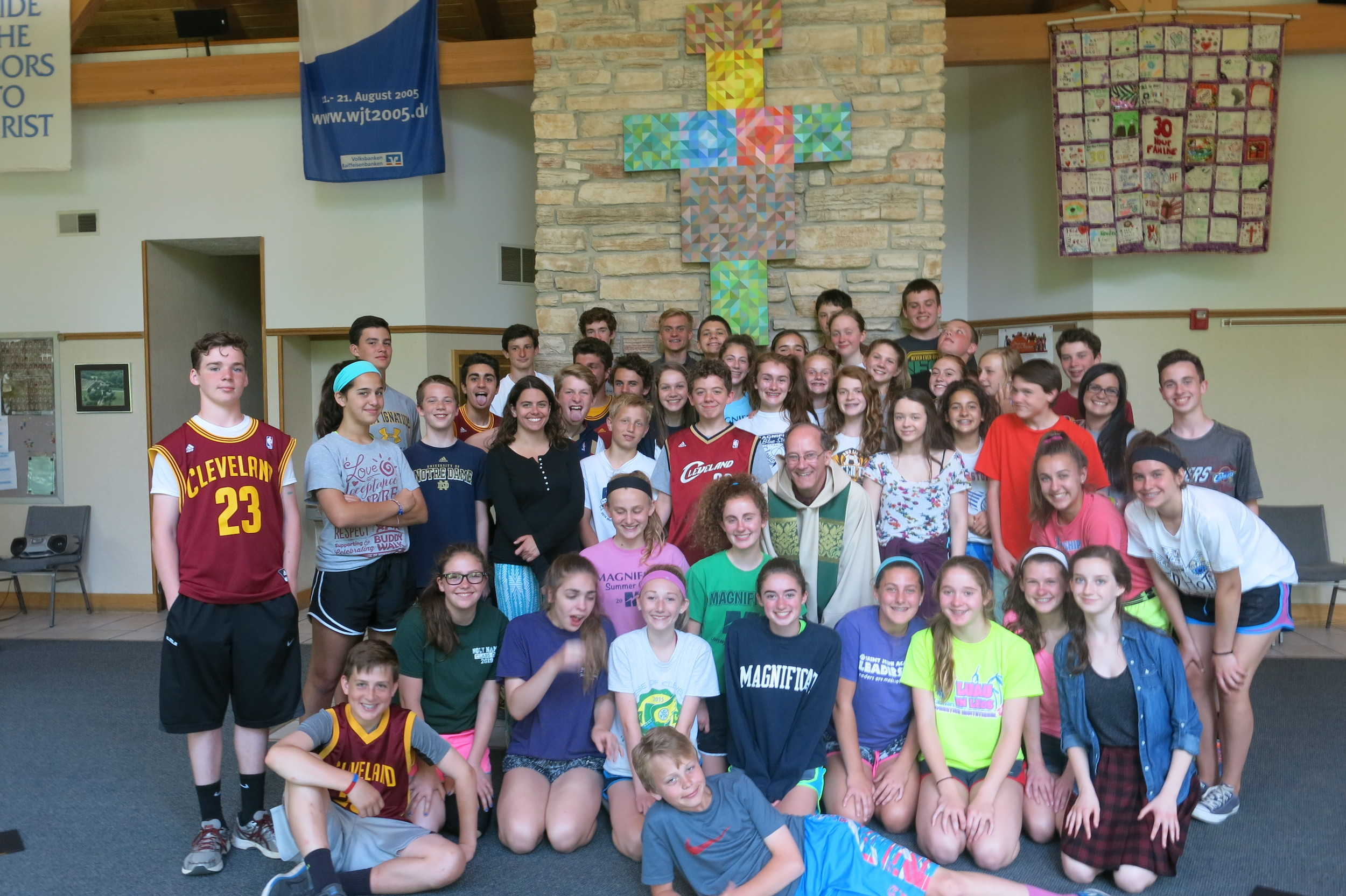 Class of 2015 Retreat Day with Fr. John