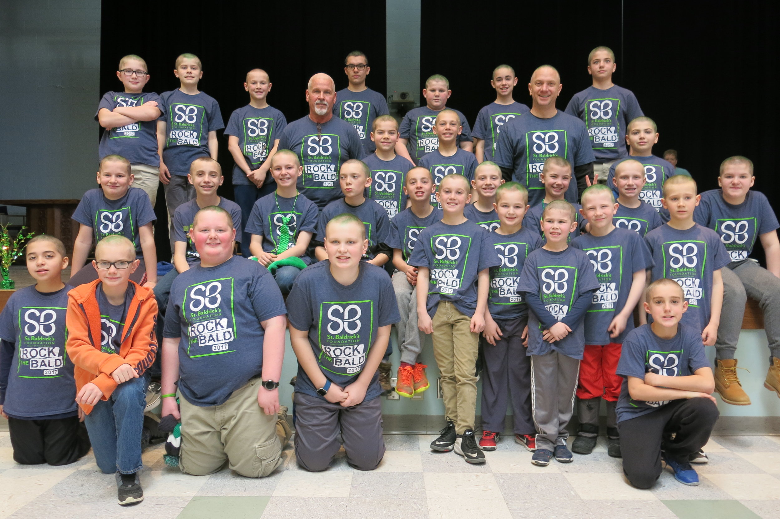 After they braved the shave