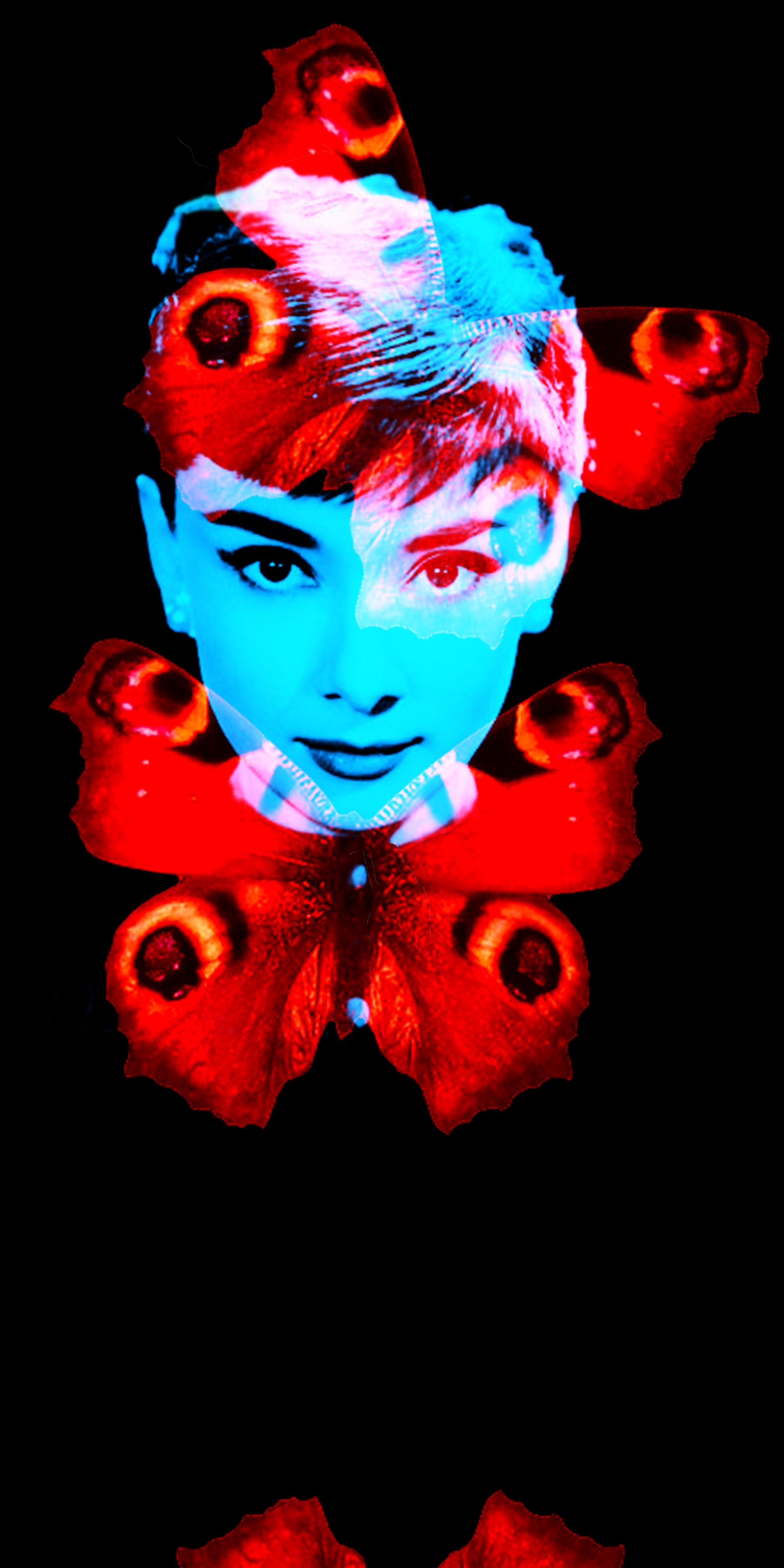 AUDREY BUTTERFLY digital art photo, 2011