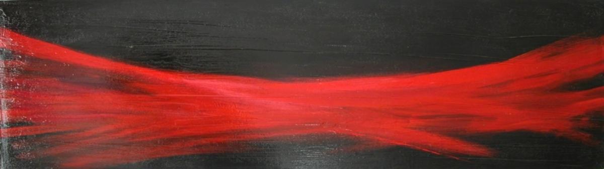 MOTIVE HIDDEN acrylic and gloss on canvas, 2009