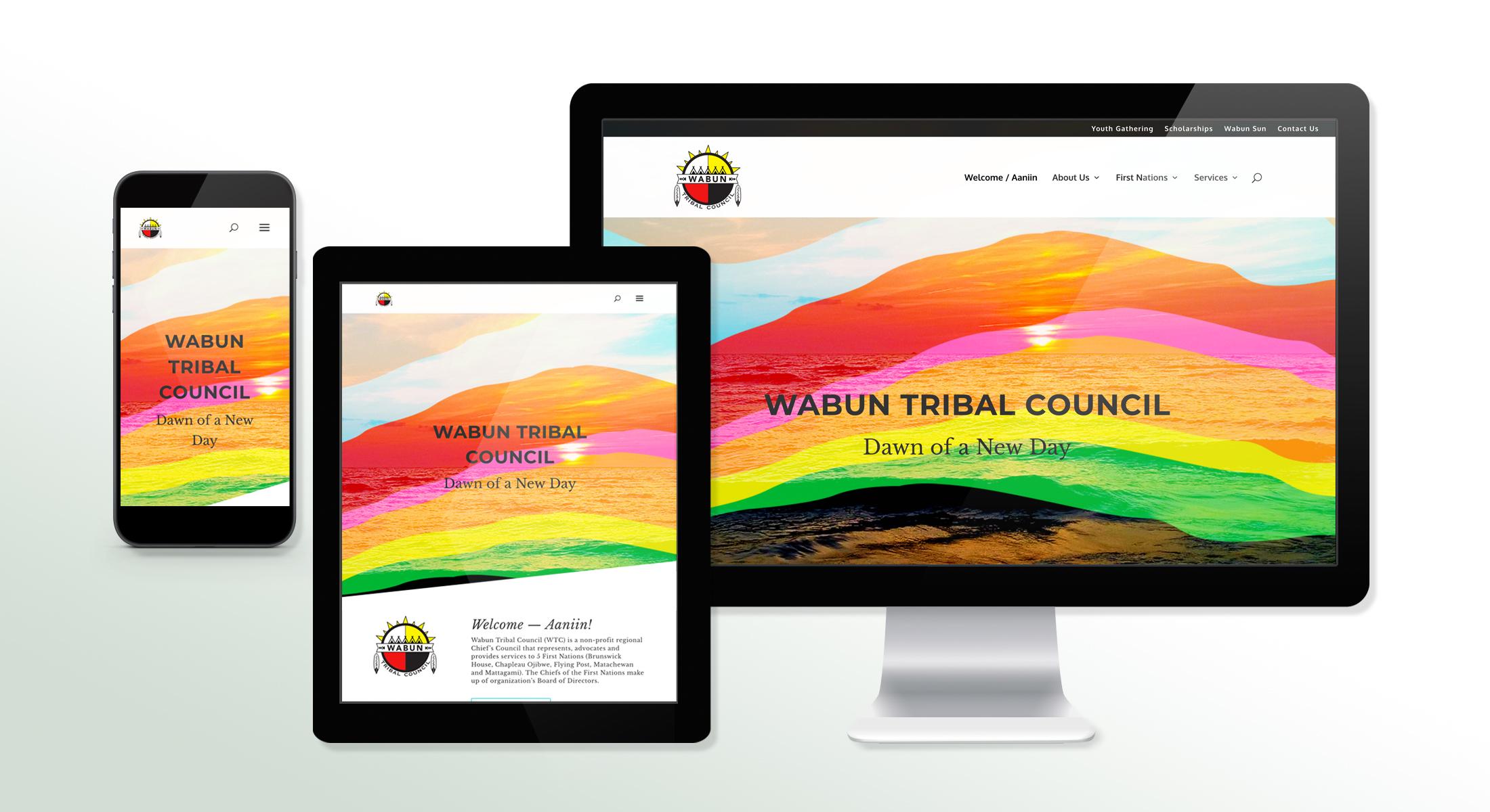 Wabun Tribal Council Website