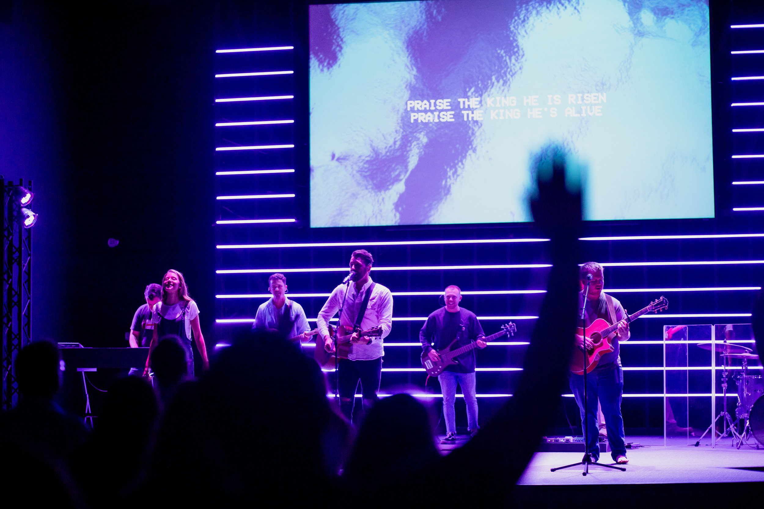 WE WORSHIP AUTHENTICALLY - We spend some time each service worshipping through music and giving of our offering. We'll play songs you'd hear on the radio. We'll sing hymns that have been sung for centuries, worship songs we've written, and songs from other churches around the world; all with the goal of helping people just like you encounter Jesus. During the offering, we hope you'll fill out a ConnectCard and let us know you were here! This will help us provide you with any information about the church, our ministries, and opportunities to connect with others at Arrowhead.