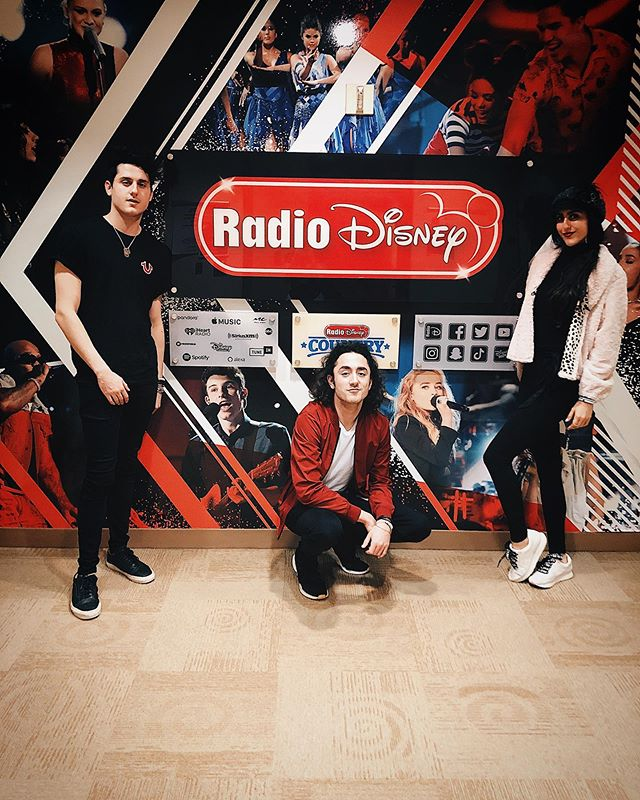Thanks to @radiodisney for having us the other day....can't wait for what's to come @rdvpgm @therealdeeyonce