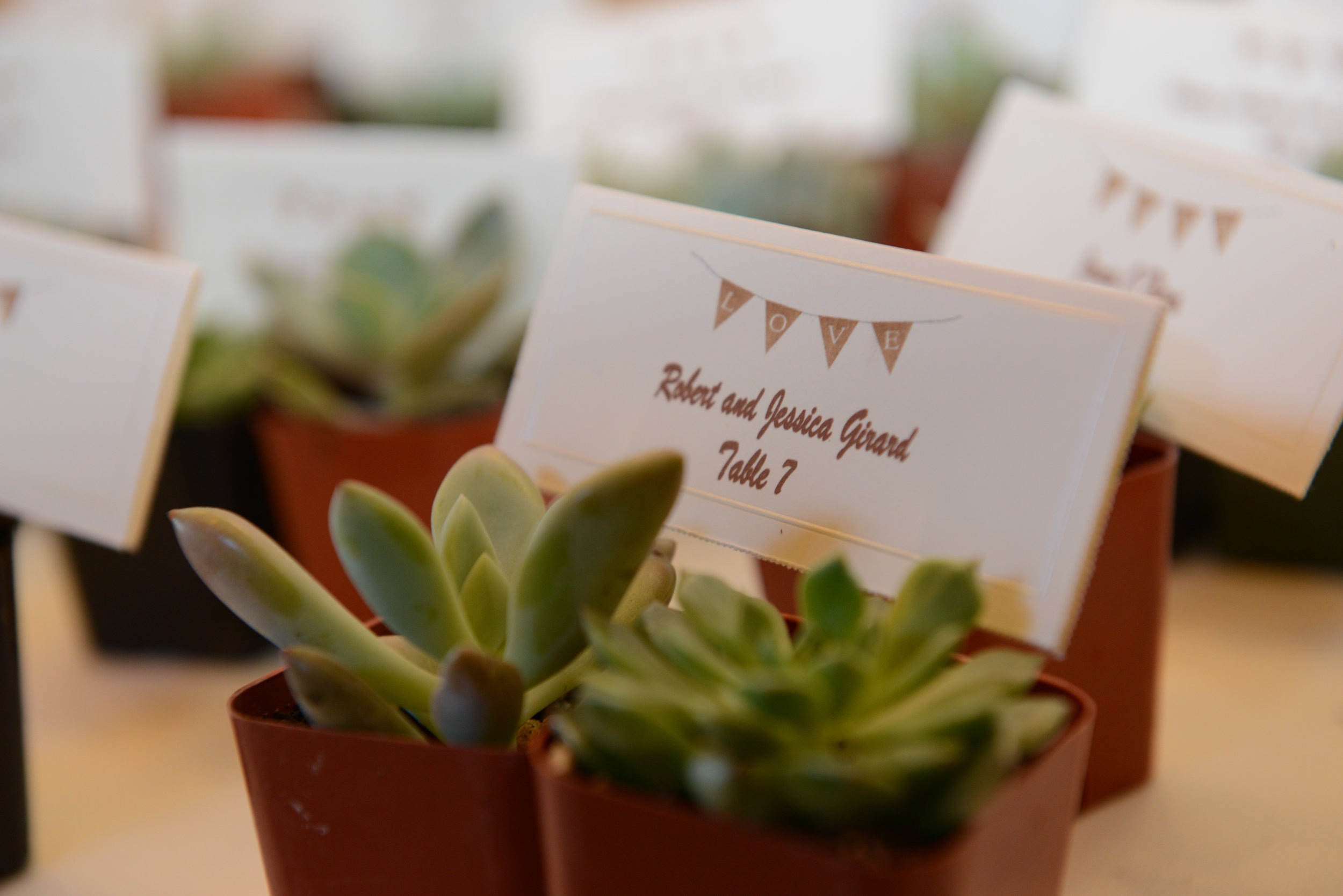 Pro tip: Your favor can also double as an escort card holder  Berryphotos