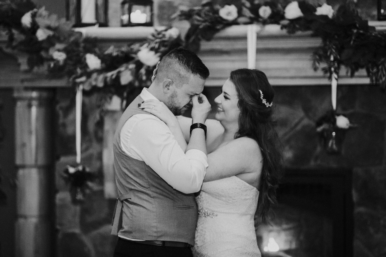 "Tyler and Lauren shared a private ""last dance"" with each other  Lauren Bay Productions"
