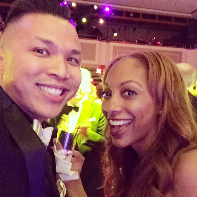 Another year at the Alvin Ailey Opening night Gala! This is how I really celebrate my bday week and prep for the new year! I ❤️ @iamjonathanlee! #20yearsfriendship #dance #music #fashion #femaledj
