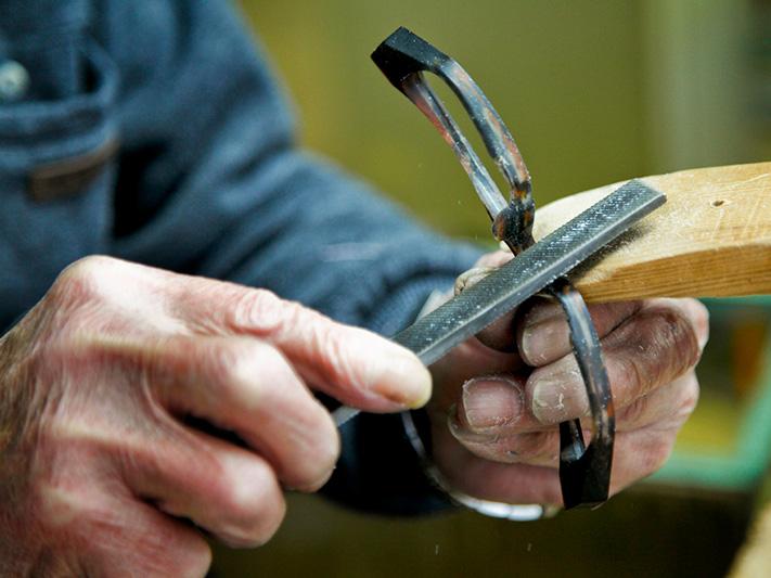 Masunaga frames made by hand