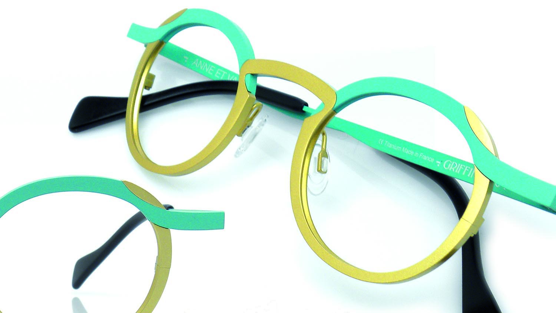 Anne et Valentine eyewear frames at Artisan Eyeworks in Ashland, Oregon