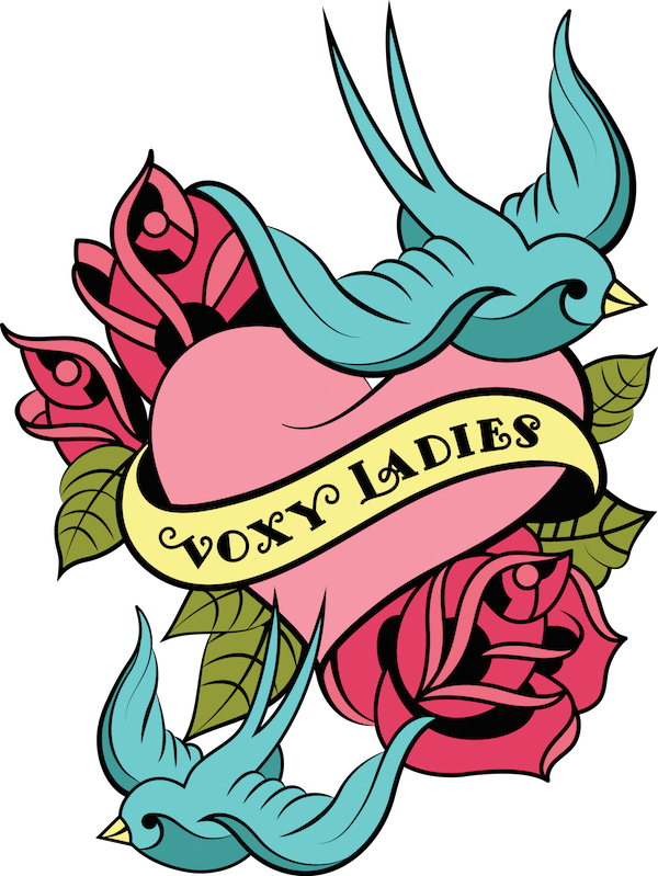 I'm also a Voxy Lady - click on the logo to view my profile!