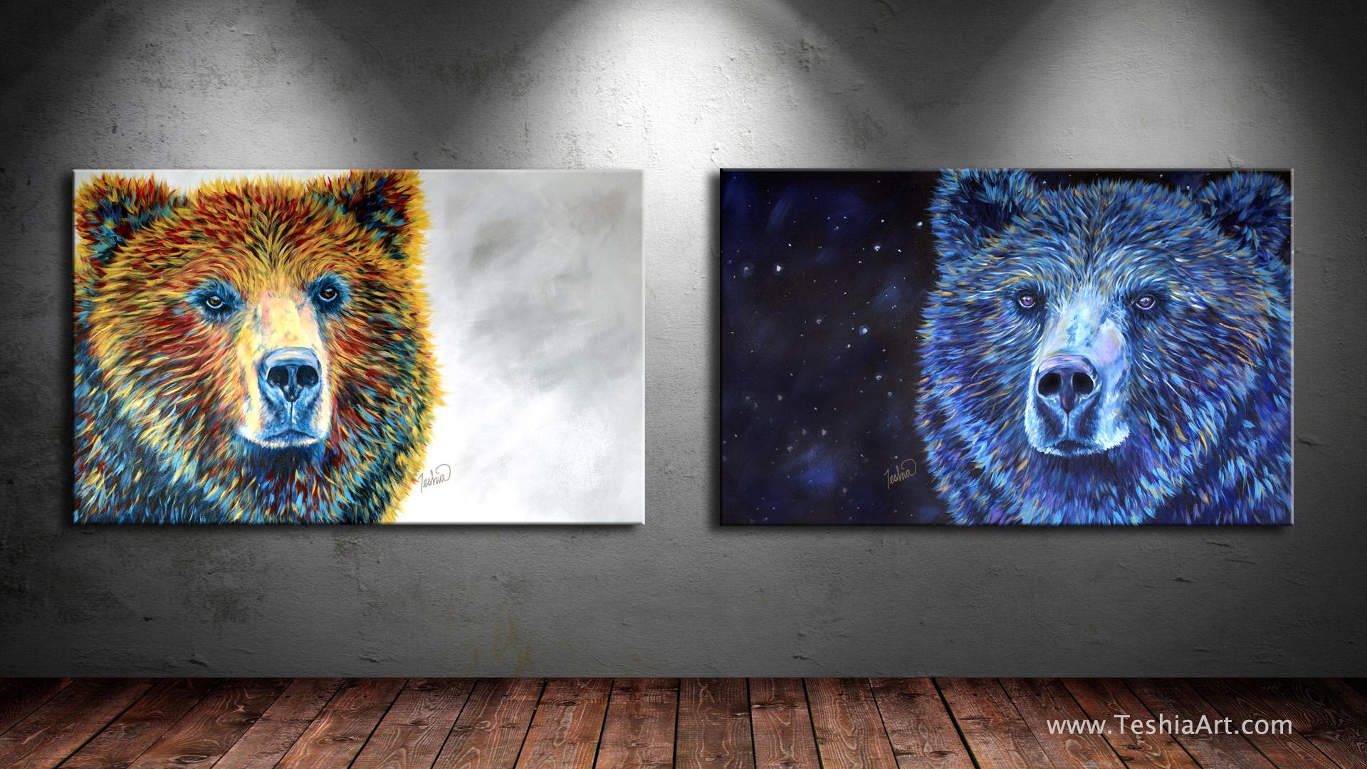 """Bear Daze"" & "" Bear Dreams """