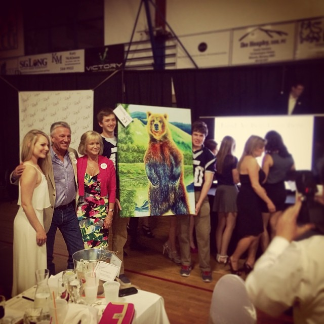 Loyola Sacred Heart Foundation, BASH Featured Artist/Original Art Donation 2014