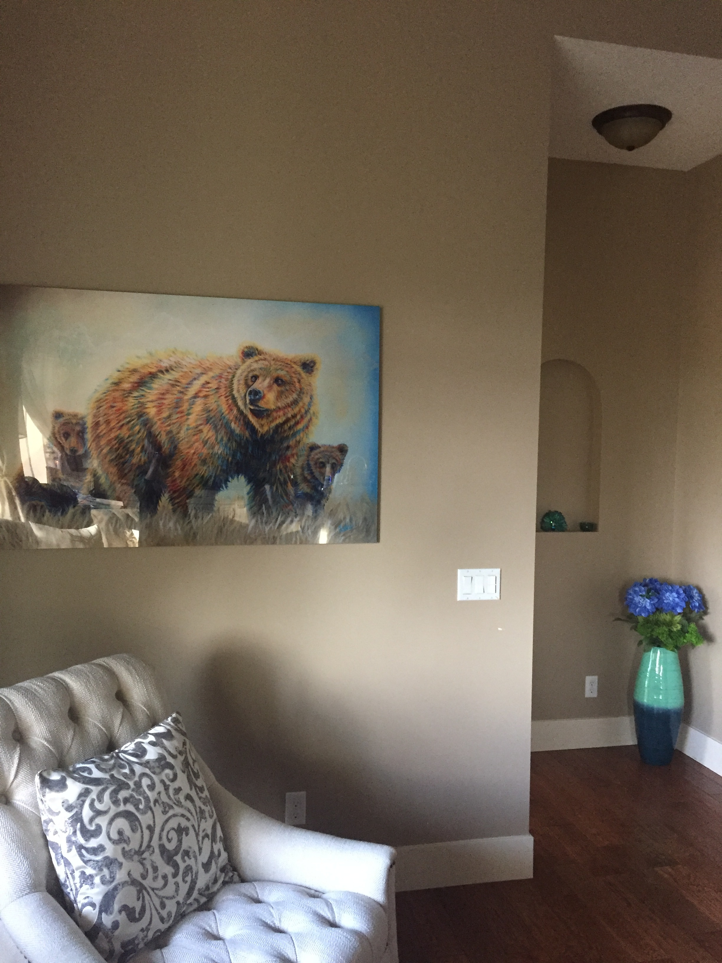 Fine Art Animal Wildlife Grizzly Bear Paintings and Prints