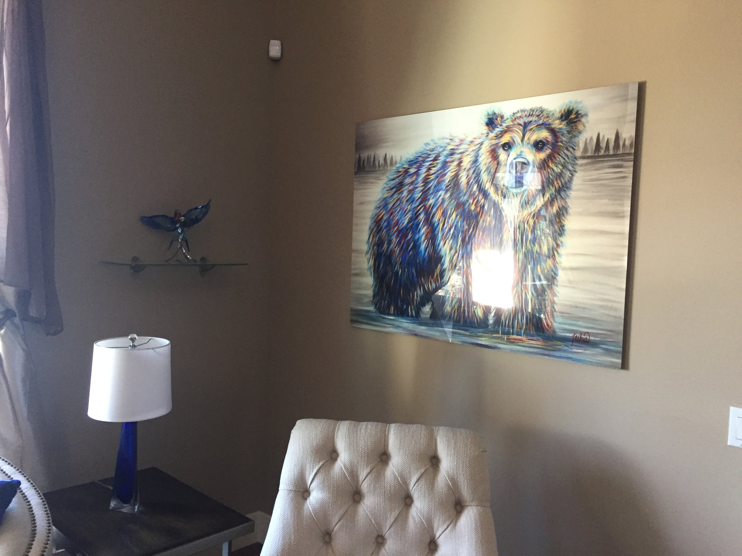 Fine Art Animal Wildlife Bear Paintings and Prints