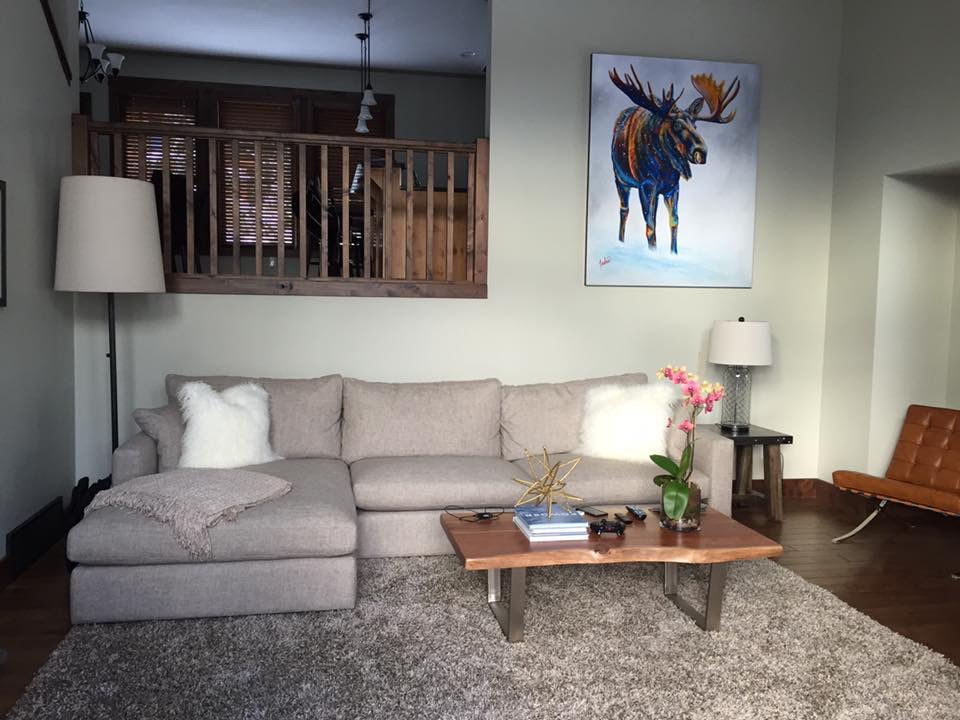 Fine Art Moose Paintings and Prints
