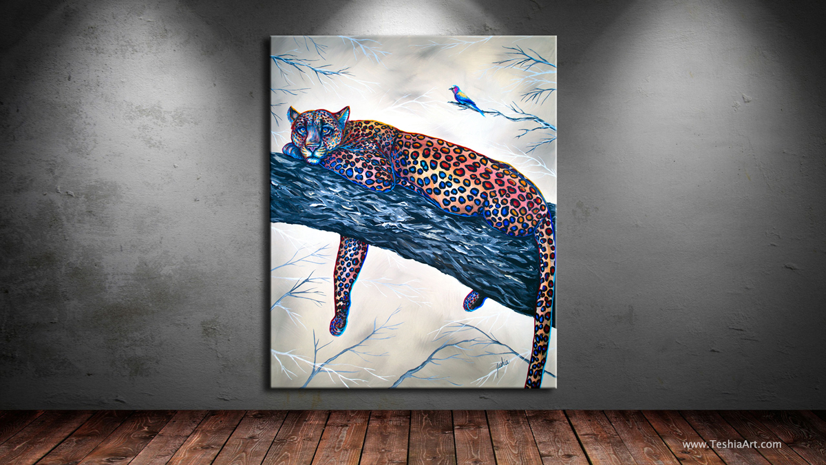 """Spotted 60x48"""""""