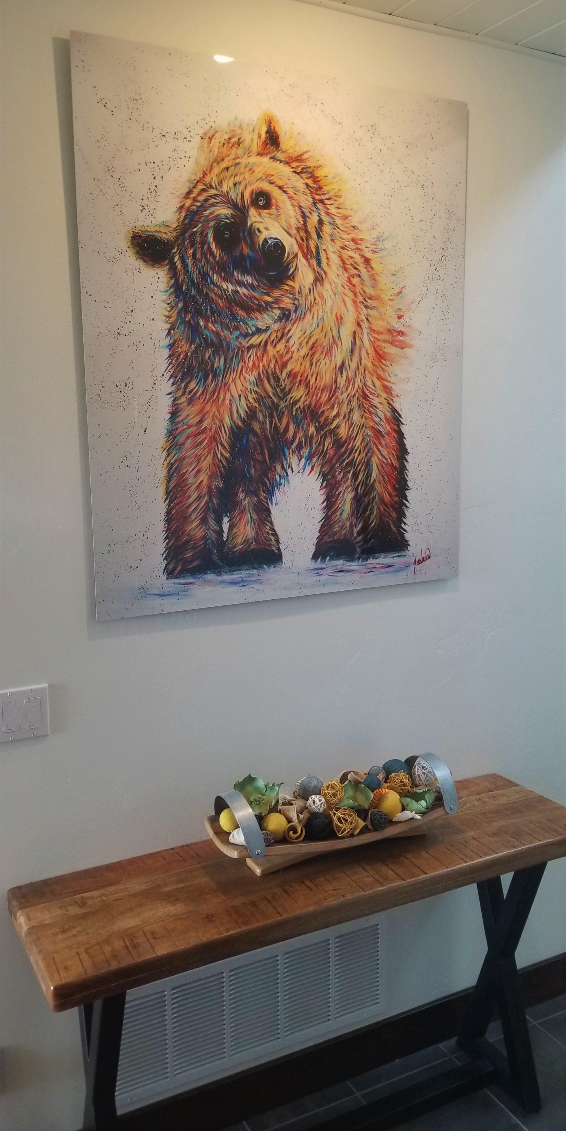 Tesha Art Grizzley at Lake House.jpg