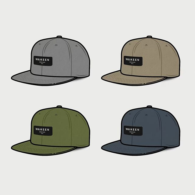 Going green for zee merch. 👤 #hat #branding #patch #illustrator #appareldesign #hatdesign #patches #snapbackhat
