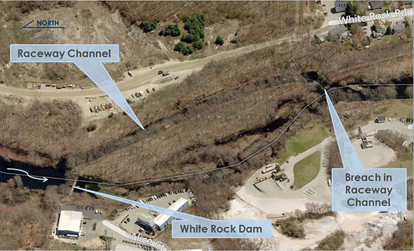 The White Rock Dam project is designed to improve river connectivity for recreational boaters and aquatic species. (Fuss & O'Neil)