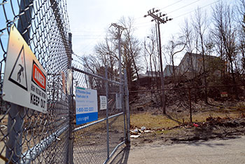 The Tidewater Street site is secure now, but it wasn't nine years ago when three kids spilled liquid mercury carelessly contained in glass jars and plastic bottles.