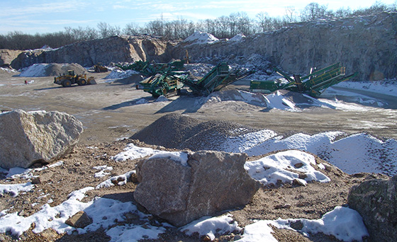 Mining operations at the long-dormant Westerly Granite Co. site in Bradford began three years ago. The headaches — literally and figuratively — began about a year later.