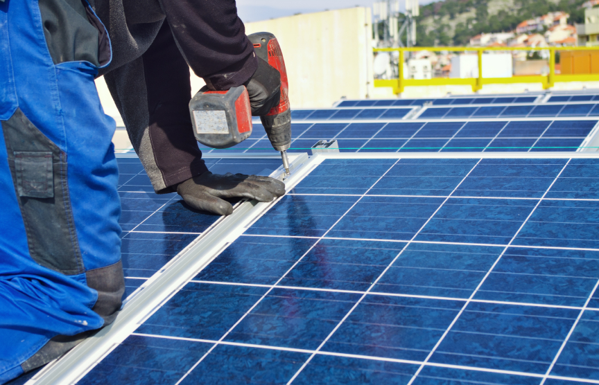 A total of 65 North Smithfield. R.I., homeowners have joined the state's Solarize program. (istock)