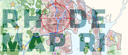 The Rhode Island Center for Freedom & Prosperity has led the charge against RhodeMap RI by spreading unfounded fear, according to those critical of the conservative advocacy group. The organization has employed a  familiar graphical tactic , putting Rhode Island's statewide planning guide in the crosshairs.