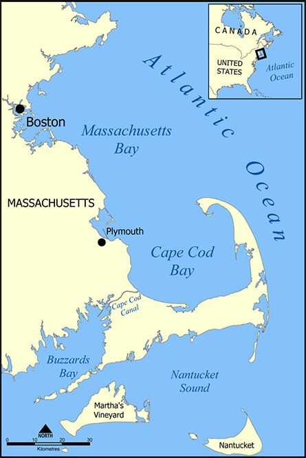 The town of Plymouth, on Cape Cod Bay, has been home to the Pilgrim Nuclear Power Station since the facility opened in 1972.