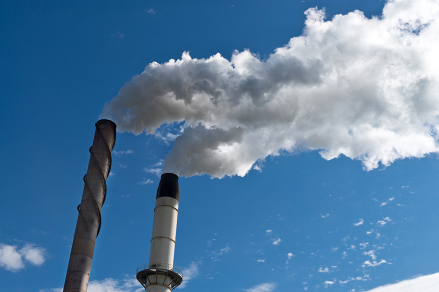 Brown University is working on how to convert carbon dioxide into fuel. (istock)
