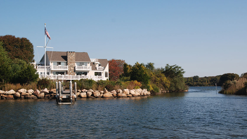 Ninigret Pond in Charlestown, R.I., is a popular spot for boaters, fishermen and aquaculture. (Tom Richardson/New England Boating)