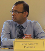 Parag Agrwal is the new head of the R.I. Division of Planning. (Tim Faulkner/ecoRI News)