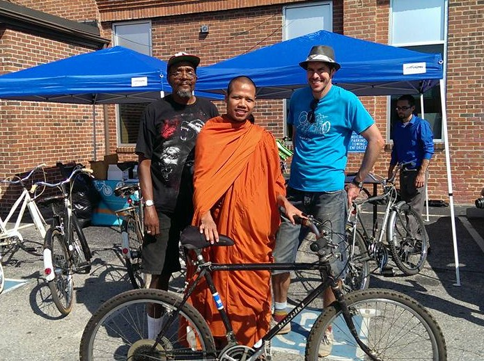 Recycle-A-Bike, a Providence-based nonprofit, partners with DIIRI to educate refugees about bike safety. In September 2015, Recycle-A-Bike donated 12 bikes to refugees. Bikes can help refugees gain and keep employment they otherwise wouldn't be able to reach. (DIIRI)